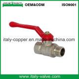 Venda por grosso de qualidade Cw617N da válvula de esfera forjada de latão (AV-BV-1047)