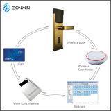 Metal inteligente de control del teléfono móvil del sistema de bloqueo de la puerta del hotel