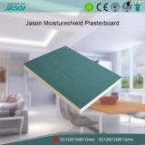 De Gipsplaat van Moistureshield van Jason voor Verdeling 12mm van het Plafond en van de Muur