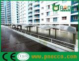 Vela de policarbonato de abrigos de estacionamento público gratuito de lona (240CPT)