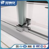 Profil en aluminium anodisé naturel personnalisé pour salle de douche