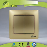 Interruttore NERO della parete del gruppo variopinto del piatto certificato CE/TUV/CB 2 di standard europeo