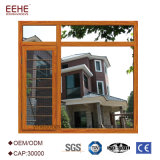 Ventana horizontal durable del marco, marco residencial Windows con la red