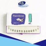 歯科供給の金属の小型Rothスロット0.022歯科矯正学ブラケットレーザーのマークの網