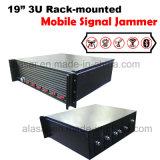 jammer móvel sem fio Rack-Mounted da cadeia da prisão do sinal 3u