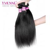 Recto natural de la armadura india del pelo del pelo del templo de la buena calidad