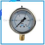2.5inchesステンレス鋼水清浄器圧力メートル