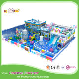 Stahlrahmen-weiches Fußboden-Kind-eindeutiger Innenspielplatz
