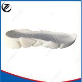 Suola personalizzabile secondaria modellata bianca del pattino di nuovo stile sola
