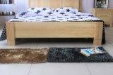 固体木のベッドの現代ダブル・ベッド(M-X2282)