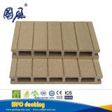 Revestimento composto plástico de madeira 174*25mm WPC do Decking Recyclable de 100%