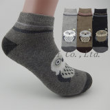 Dame-Qualität wärmen keine Erscheinen-Knöchel-Boots-strickenden Socken