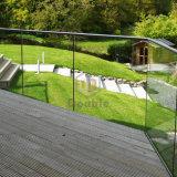 Cercado decorativo del jardín del balcón de cristal de la cerca del jardín/de la cerca de la terraza