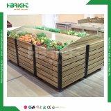 Supermercado Rack de frutas y verduras de madera