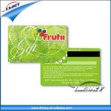 Carte di credito, scheda di contanti del supermercato, scheda di insieme dei membri, scheda di striscia magnetica