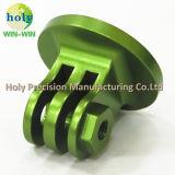 El CNC del surtidor de China trabajó a máquina las partes de aluminio en buen final anodizado