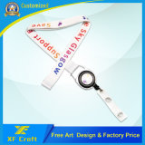 Professional Factory Custom Company Logo Lanyards with Metal Hook for Promotion/Souvenir (LY29-A)
