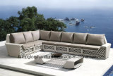 Plastikgarten-Sofa, Freizeit-Sofa, Patio-Sofa für im Freienmöbel (TG-061)