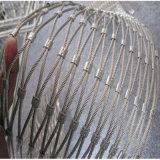 Спиральн ячеистая сеть предохранения от наклона сети веревочки