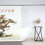 Het Gordijn van de Douche van de Polyester van het Ontwerp van het Af:drukken van de Douane van de Cowboy van het westen voor Badkamers