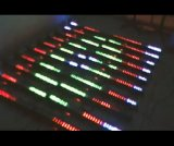 3rows 8sections RGB LED Wand-Unterlegscheibe