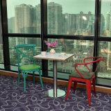 Креста назад порошковое покрытие металлическими стульями с различными цветовыми вариант
