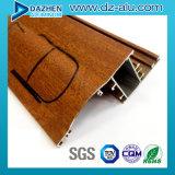 Dessus populaire vendant le profil en aluminium personnalisé pour le tissu pour rideaux/porte de guichet