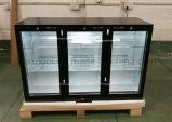Supermaket прямого охлаждения охладителя Underbar, 3 Глас счетчик двери верхней части электрического пиво на задней панели охладителя