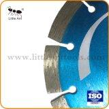 Fabrikant 134mm van het Blad van de Zaag van China het Diamant Gesinterde Blad van de Zaag voor Graniet
