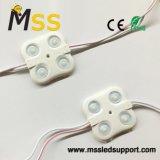 이중 면 LED 가벼운 상자와 채널 편지를 위한 광학 렌즈를 가진 중국 2835 주입 LED 모듈. - 중국 LED 모듈 빛, Bat-Wing Backlite LED 모듈