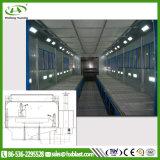 Salle de peinture en aérosol humide de l'environnement