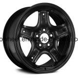 Черная отделка высокого качества пять звезд стальной колесный диск 17x7.5