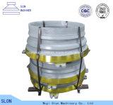 Hohes Mangan Sandvik CH660 konkav und Umhang-Kegel-Zerkleinerungsmaschine-Teile