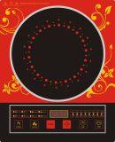 Colore rosso di marca di Ailipu con il fornello di modello commovente di induzione del grande piatto (ALP-12)