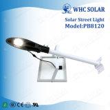 Éclairage routier solaire Integrated extérieur élevé du lumen 20W DEL de Whc