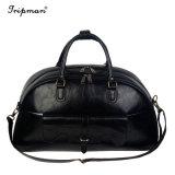Высокое качество моды PU кожаные сумки черный мешок Duffel передвижного блока