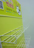 Advertizing Metal Frame Promotional Infant Formula baby Milk Powder Metal Hanging display rack