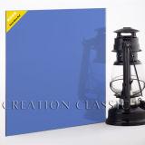 Buena calidad de 4mm Azul cristal tintado, Vidrio Flotado azul