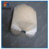 De witte Nylon Fabrikant van de Borstel van de Rol van de Gloeidraad Spiraalvormige