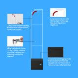 Акрил RF антенна EAS звука и света 8.2MHz системы сигнализации для защиты от краж сигнал антенны системы EAS RF ворота для одежды магазин супермаркет магазин против воровством
