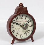 Reloj al por mayor del metal de la antigüedad de la buena calidad