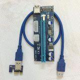 新しいUSB 3.0 PCI-Eは1X -16X GPUエクステンダー暴徒のカードのアダプター008sを表現する