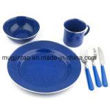 Plaque campante extérieure réglée de soucoupe en cuvette de Tableau de vaisselle de cuisine augmentant la couleur de Soild d'outils avec le RIM inoxidable