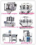 Peseur automatique de mélange d'aliment principal pour la machine à emballer