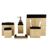 砂の終わりの樹脂の浴室/浴室のアクセサリは付属品の製品のためにセットした