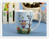 De gepersonaliseerde Koppen van de Thee van de Reclame Ceramische voor de Gift van Kerstmis