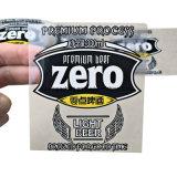 カスタムプラスチック防水ラベル、ジュースの飲み物のびん(jpsticker003)のためのロールステッカー