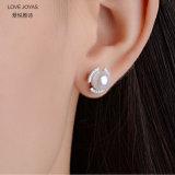 Vite prigioniera degli orecchini della perla della rotella del fuoco (LOVEJOYAS)