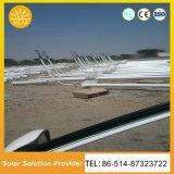 Éclairage solaire solaire des réverbères DEL avec la batterie Pôles et les lumières