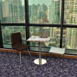 Bentwood programável confortável cadeira com estofos de tecido para jantar